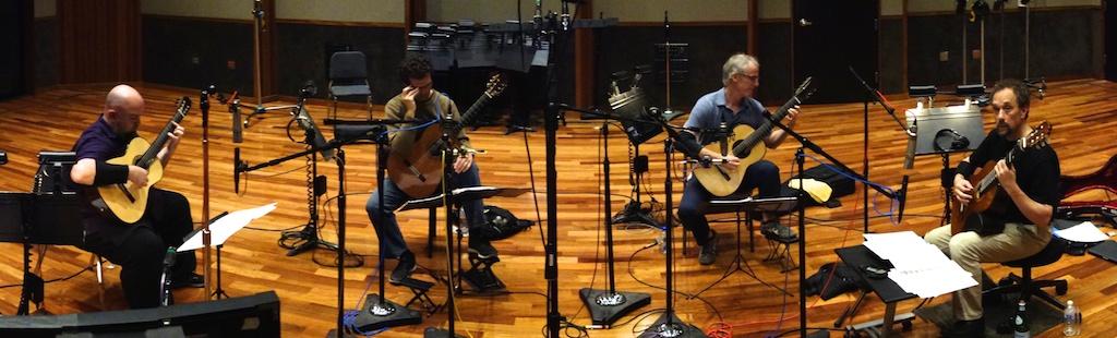 2014-07-08 Los Angeles Guitar Quartet @ the Bridge